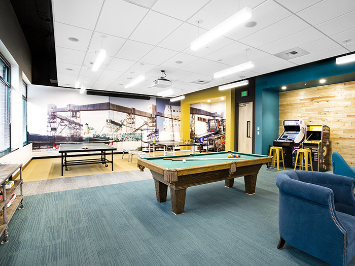 F5 Networks Game Room