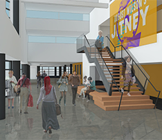 Seattle Repertory Theatre Lobby Upgrades